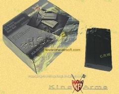 King Arms 110rds Magazine for G3 Series AEG (BK, 5pcs)
